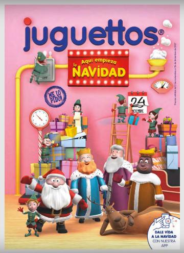 Ponte Navideña Campaña JuguetesCentro Vella Comercial 8mNnwv0