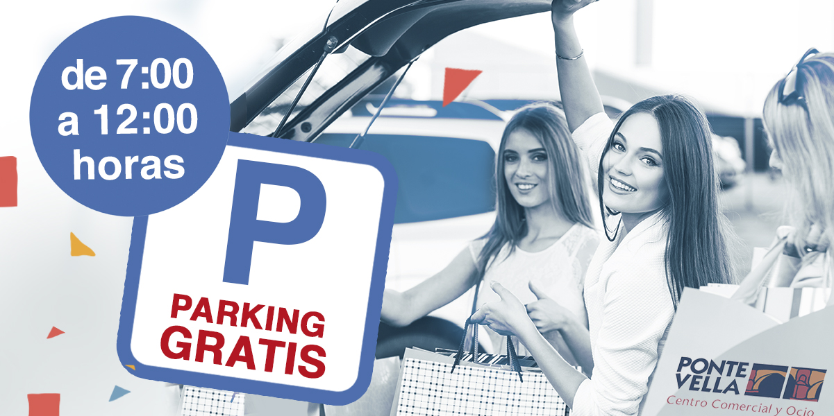 Parking gratis de 7 a 12