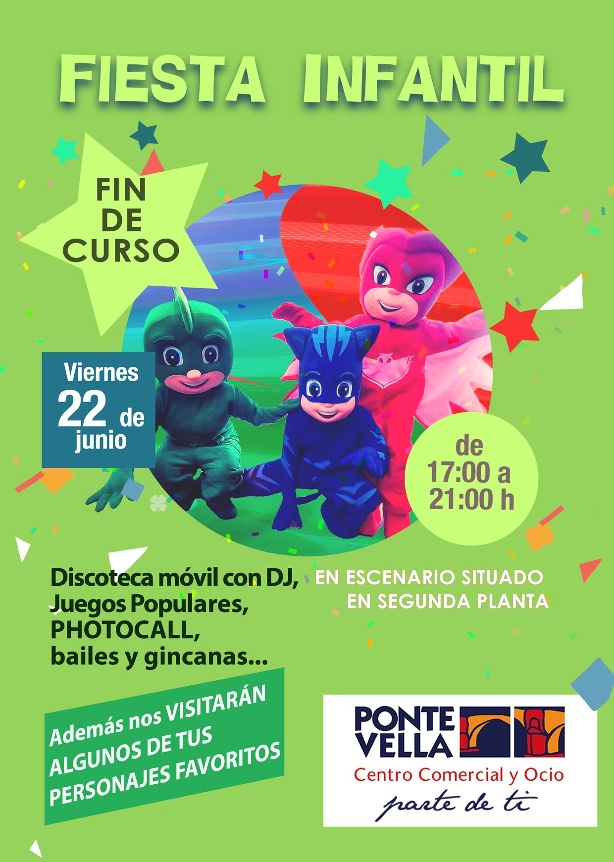 Fiesta Infantil Fin de Curso