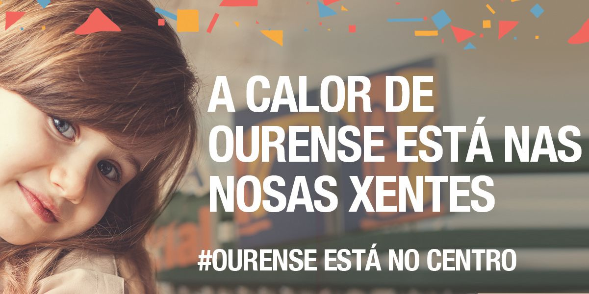 Ourense está no Centro