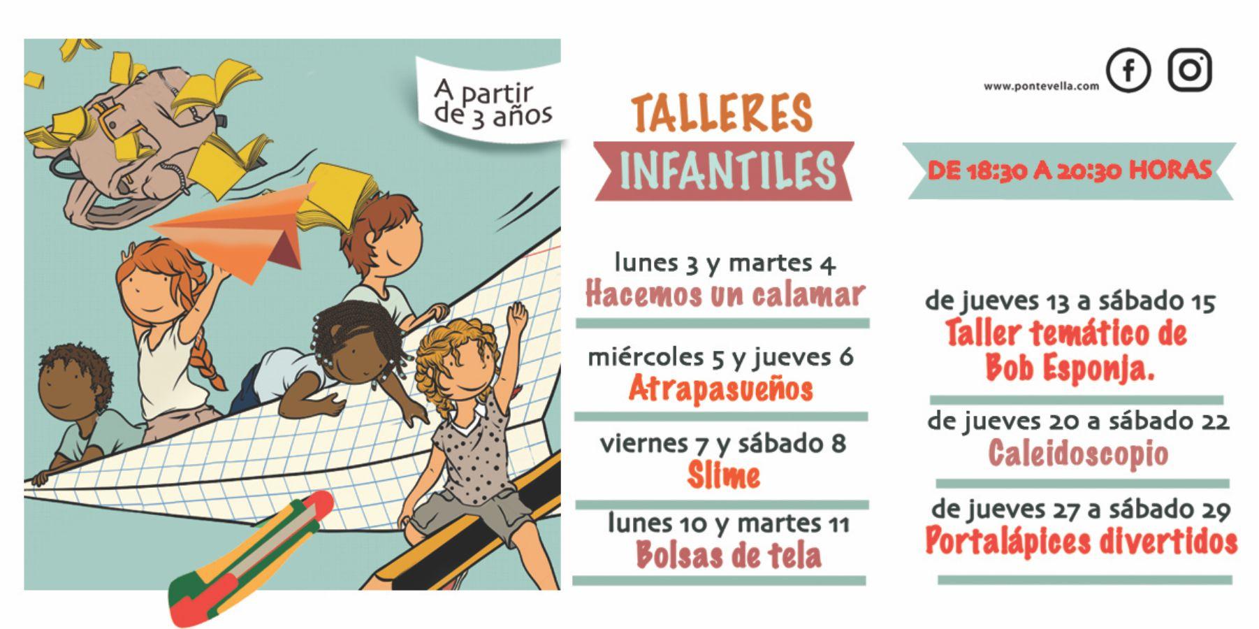Talleres Infantiles Septiembre