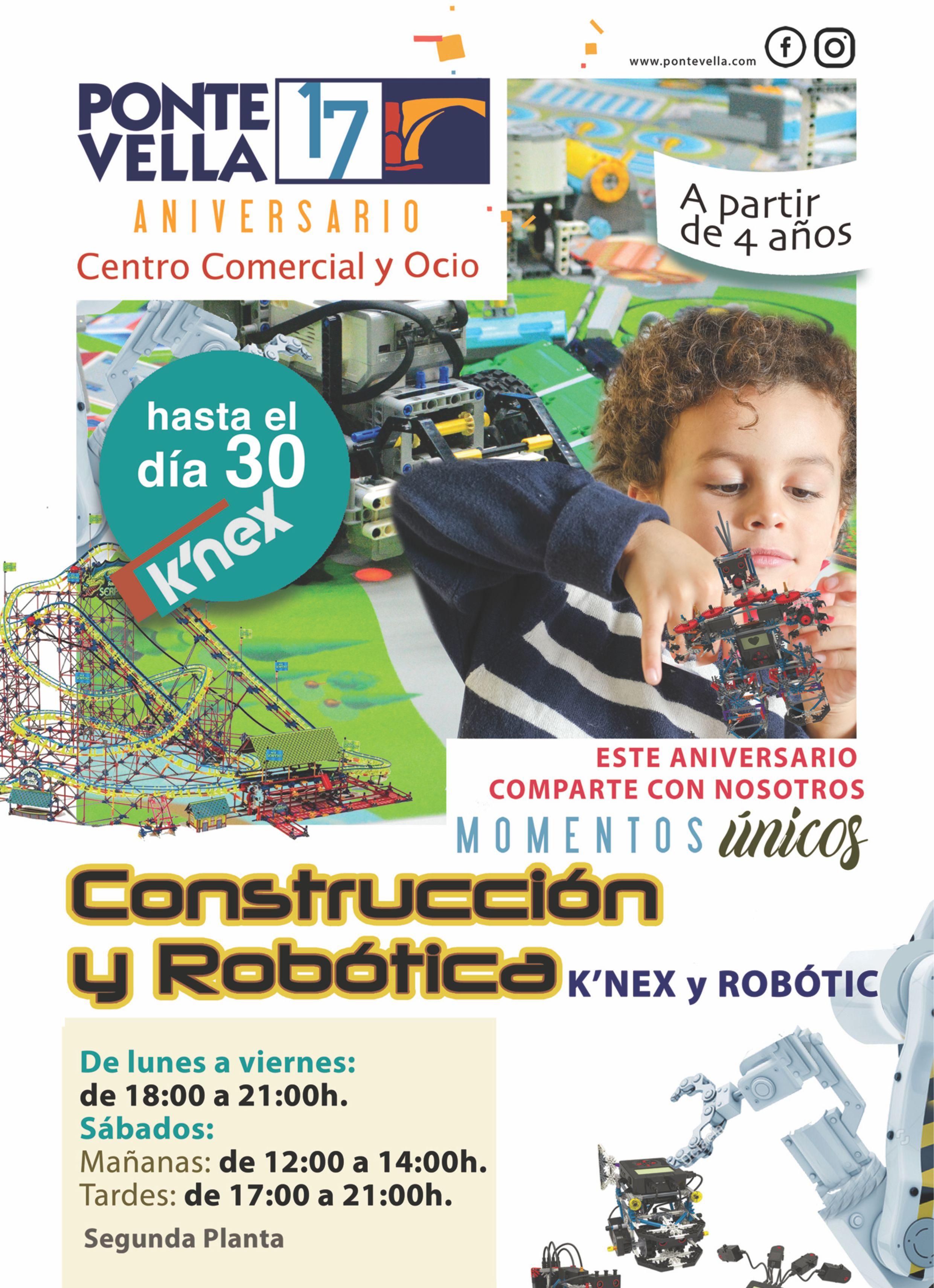 Espacio k'nex de Construcción y Robótica
