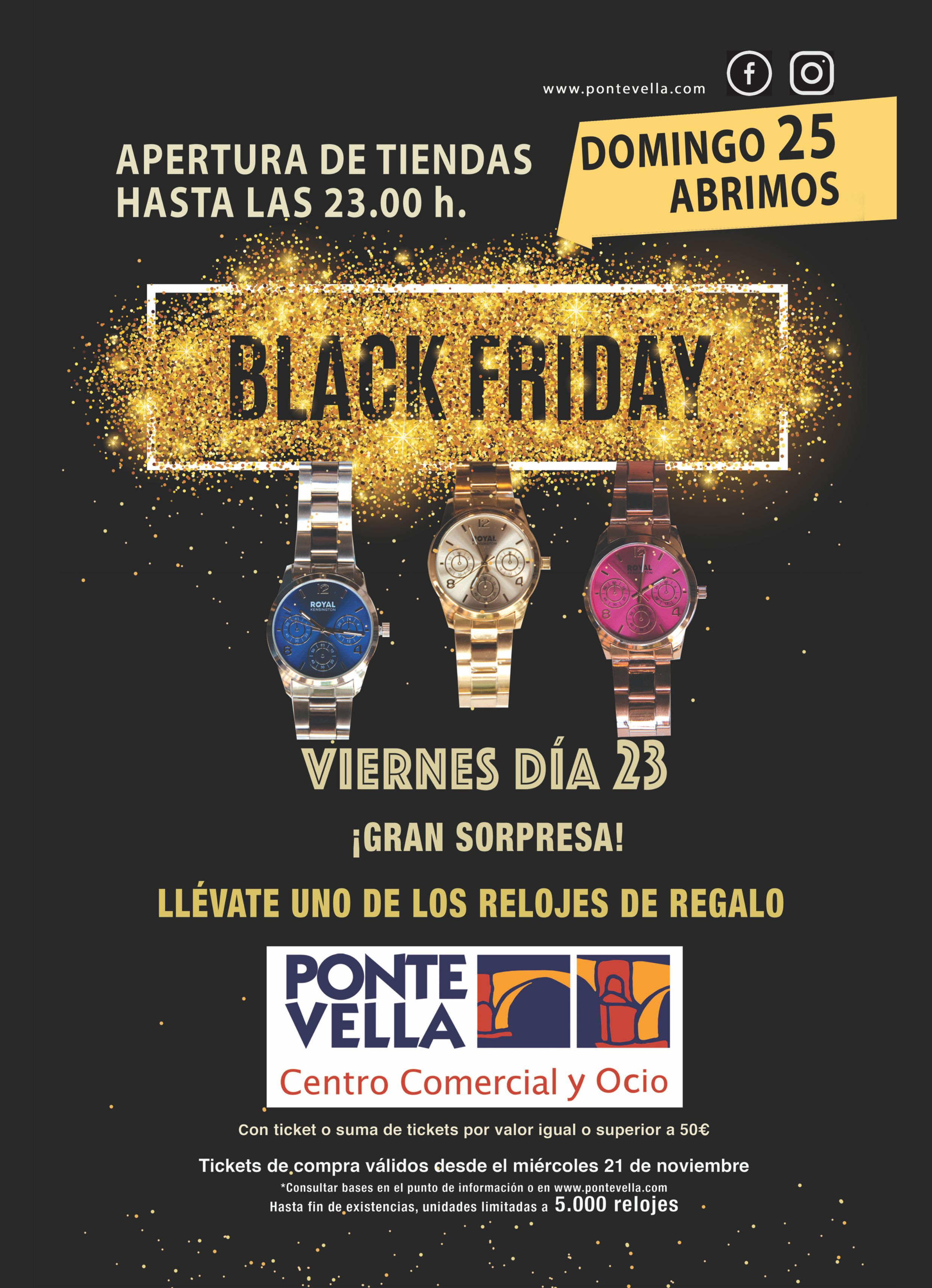 mirada detallada 77150 a22bb Black Friday 2018   Centro Comercial Ponte Vella
