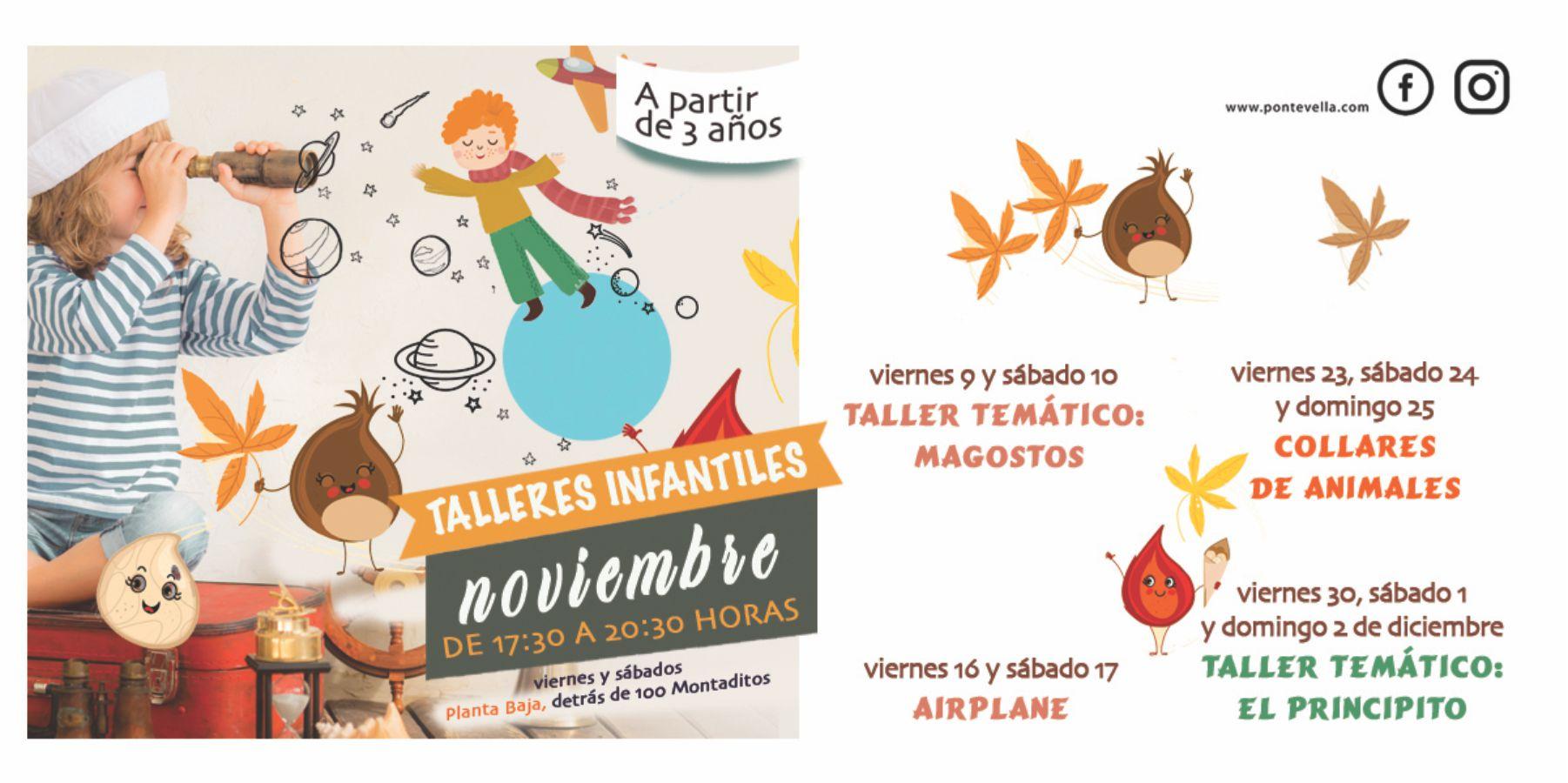 Talleres Infantiles Noviembre