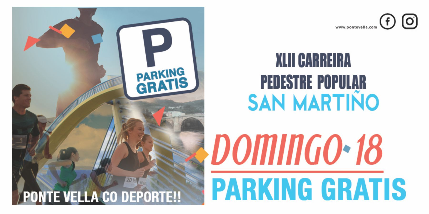 Domingo 18 Parking Gratis