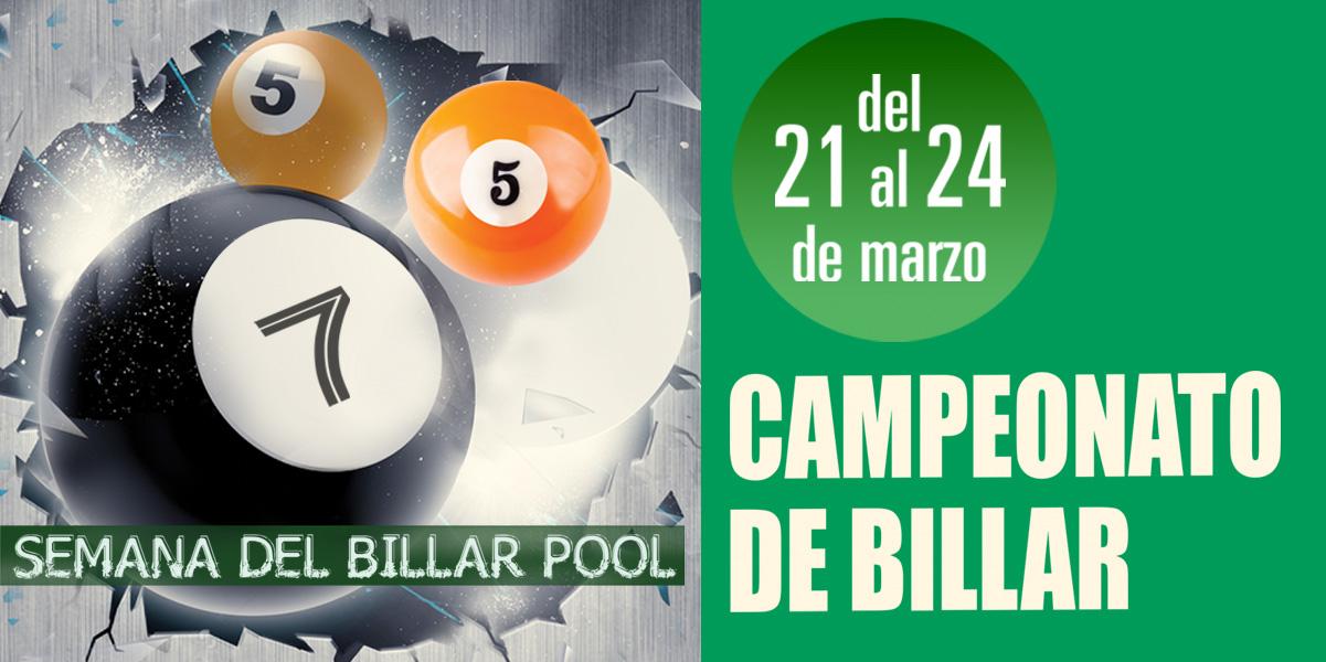 Semana de Billar Pool