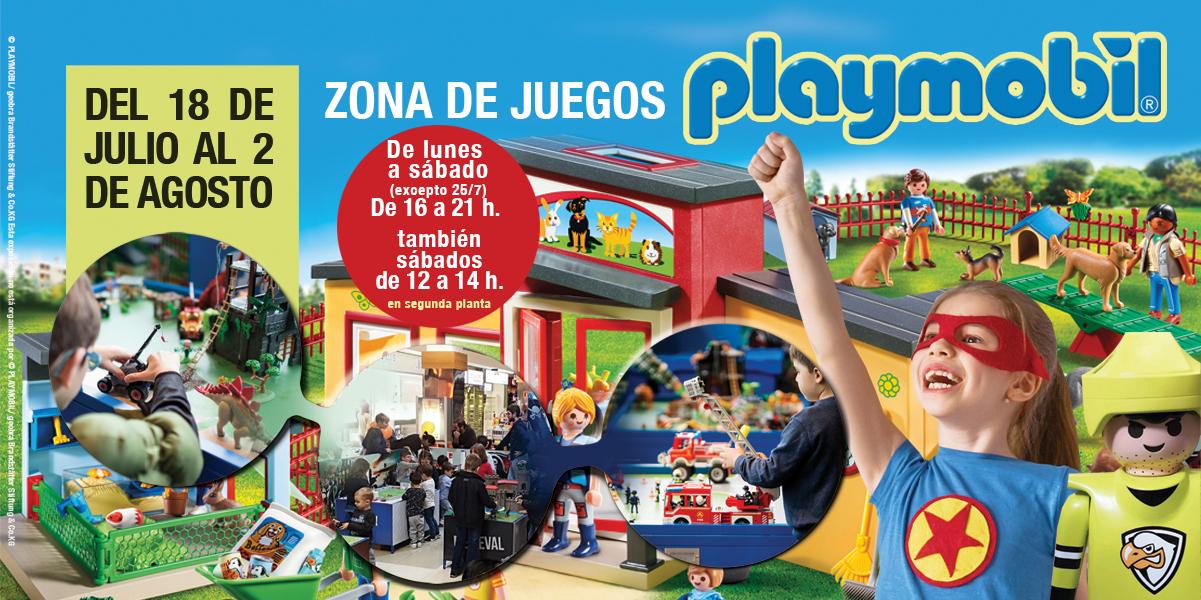 Zona de juegos Playmobil