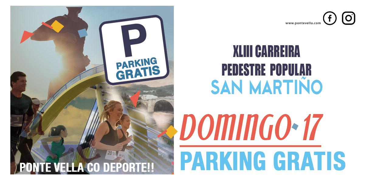 Parking Gratis Domingo 17