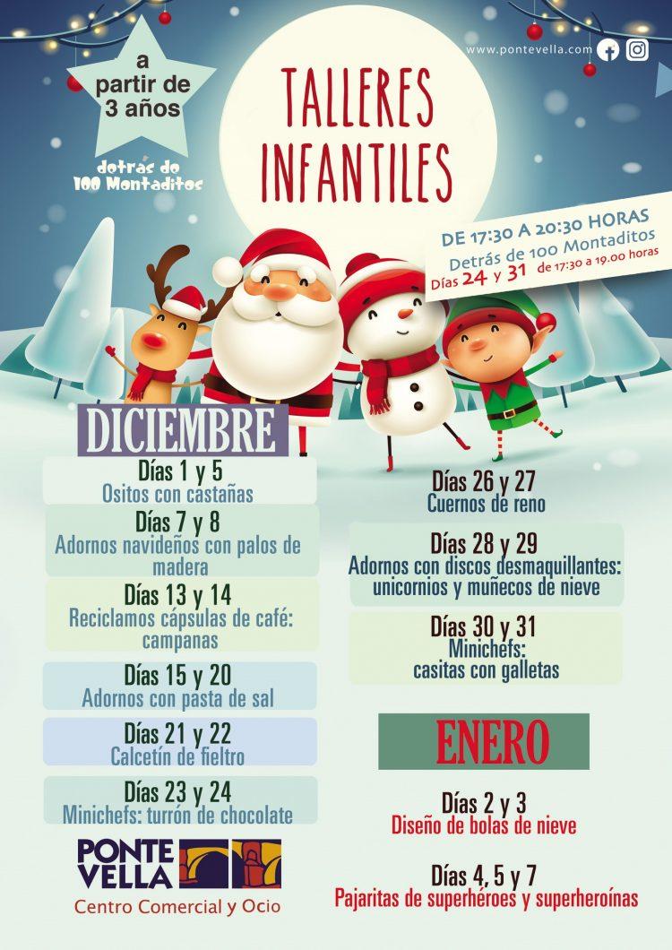 Talleres Infantiles de Navidad