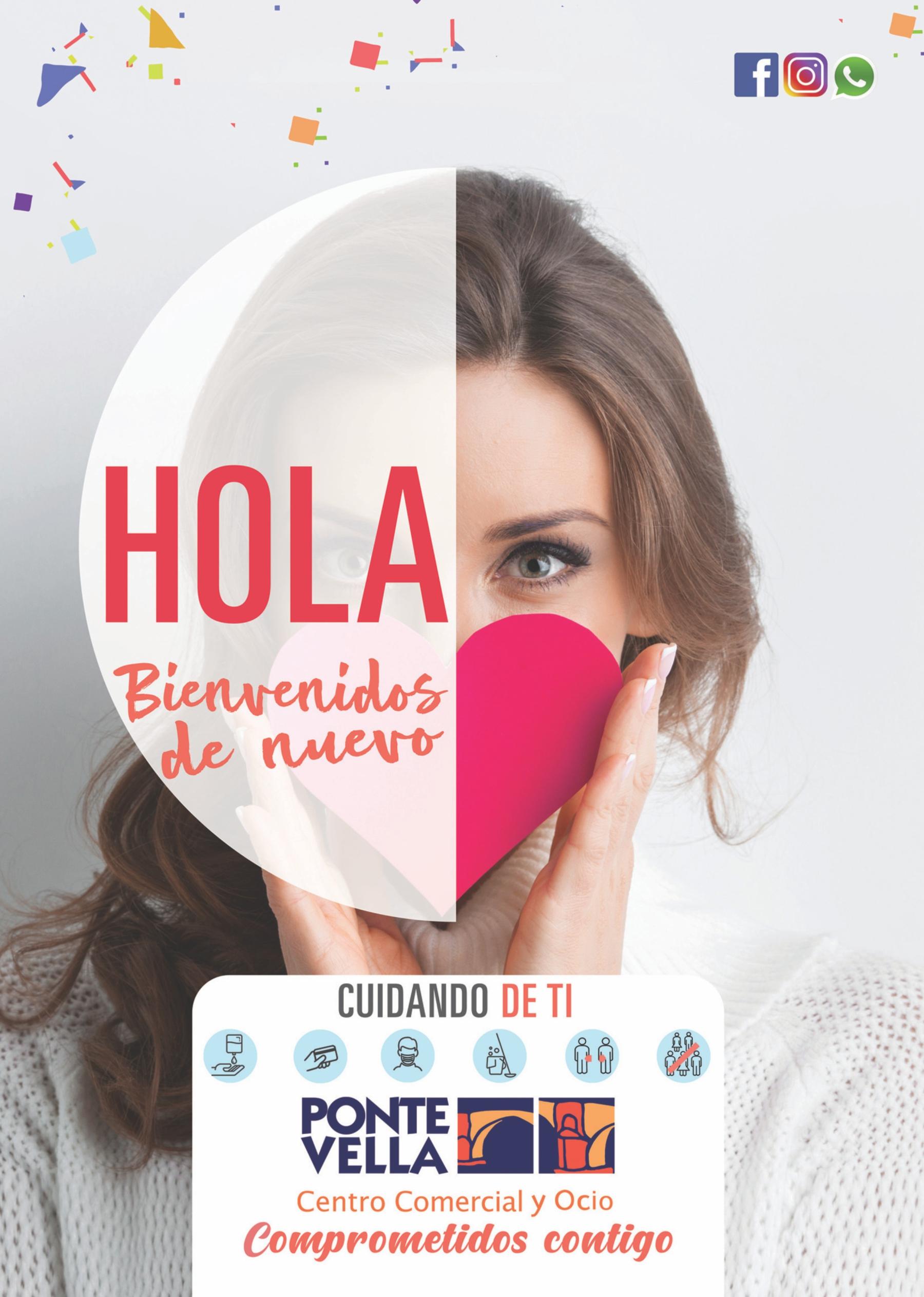 HOLA! BIENVENIDOS DE NUEVO!