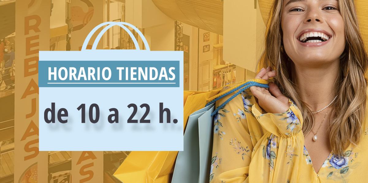 HORARIO DE TIENDAS