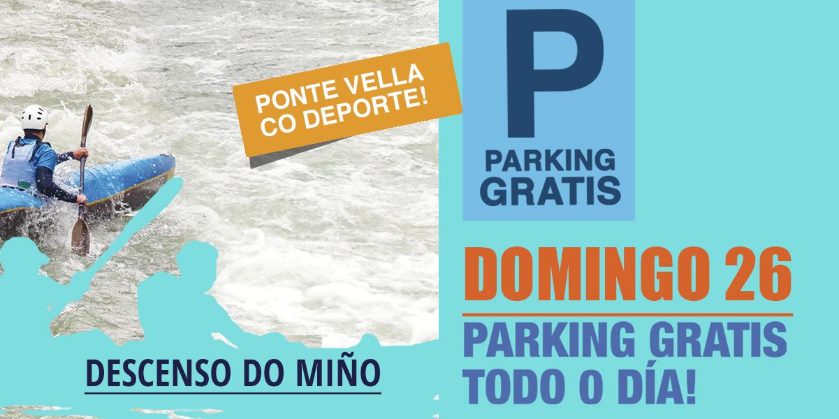 Parking GRATIS domingo 26